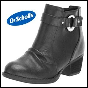 NEW! Dr Scholl Ankle Zipper Boot Size 7.5M